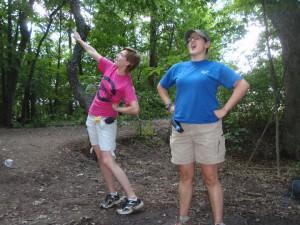 Sea-Turtle-Camp-Program-Coordinator-singing-at-campfire